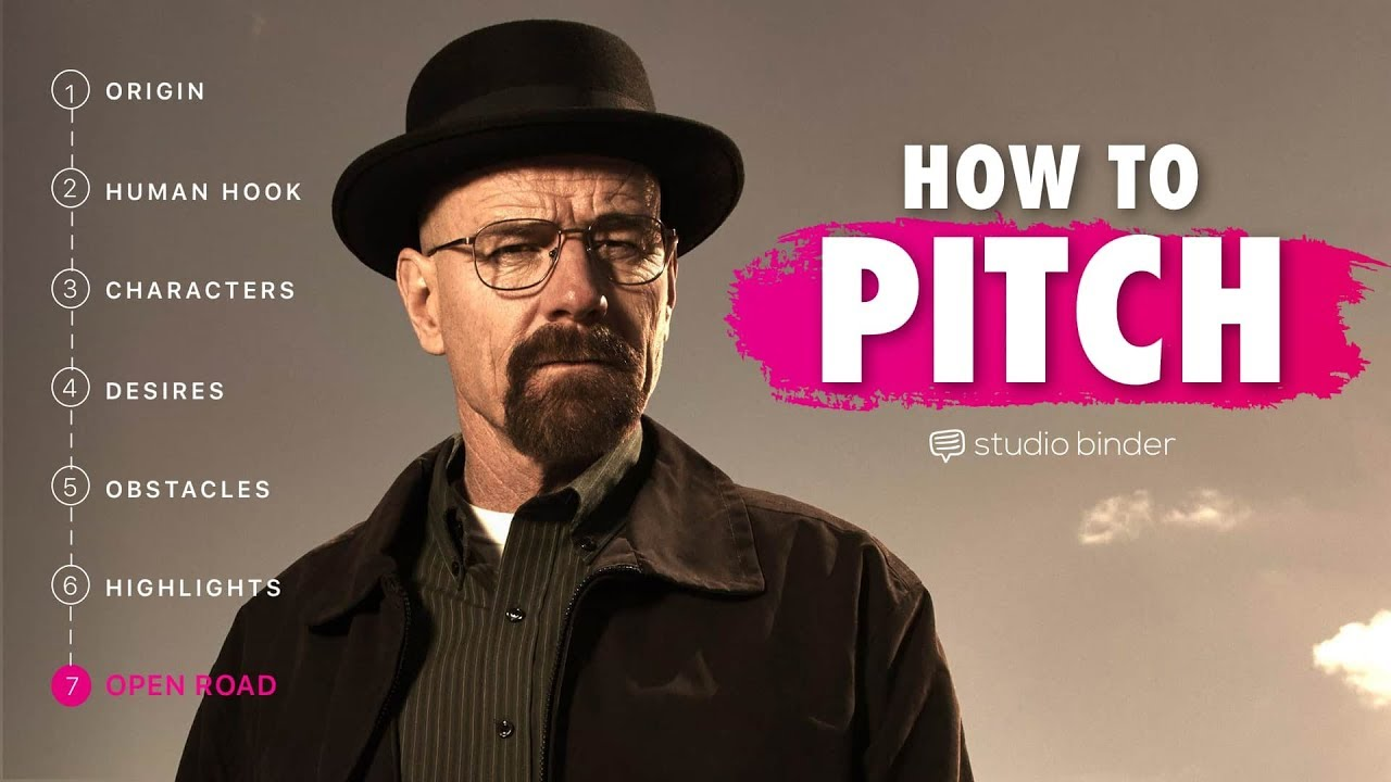 How to Pitch a TV Show Idea — TV Writing & Development: Ep17
