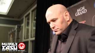 Dana White talks about getting old and the