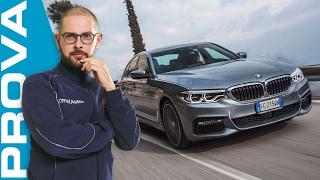 Nuova BMW Serie 5 (2017) | La prova su strada