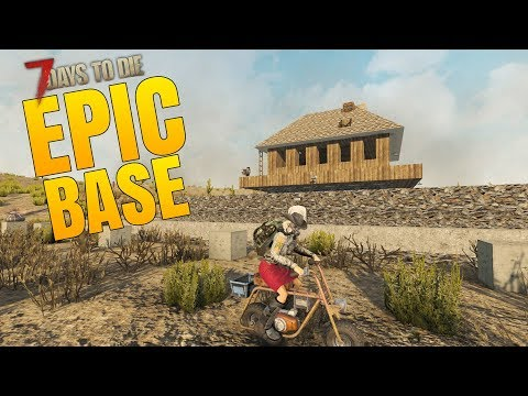 OUR BASE IS GETTING EPIC! - 7 Days to Die Alpha 16 Multiplayer Gameplay #49