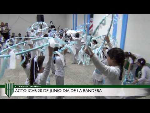Acto por el Día de la Bandera en el ICAB