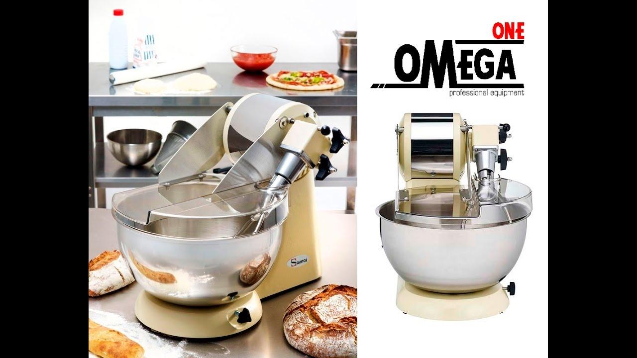Ζυμωτήριο 10 Λίτρων SANTOS No 18 10 Liter Dough Mixer - YouTube