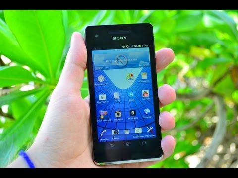 Обзор Sony Xperia V (review): камера, игры, тест в воде, ПО