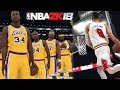 NBA 2k18 HUGE Screenshot & Ratings Drop #3! All Time Lakers! Zach Lavine! Should Rose be higher?