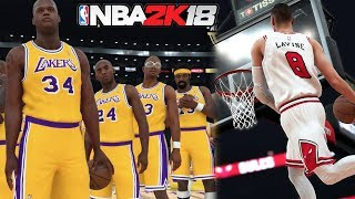 NBA 2k18 HUGE Screenshot & Ratings Drop #3! Legend All Time Lakers! Zach Lavine! 2k Disrespects Rose