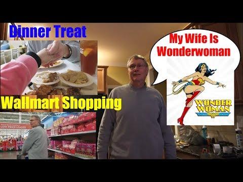 American Filipina Life In America My Husband Treat Me For Dinner+ Walmart Shopping
