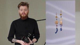 Урок по предметной съемке (ювелирные изделия) с насадками  Profoto Spot Small; Profoto Fresnel Small