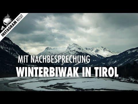 Thermogenese, Brennholz im Winter, Temperaturmessung – Winterbiwak mit Nachbesprechung