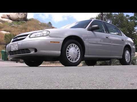 2000 Chevrolet Malibu 1 OWNER 68,000 Orig Miles Creampuff Sedan