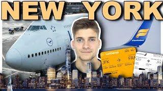 Mein STANDBY-FLUG nach NEW YORK! AeroNewsGermany