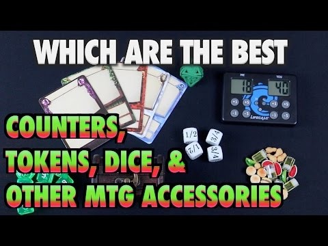 A Guide To Dice, Tokens, And Other MTG Gaming Accessories For Magic: The Gathering