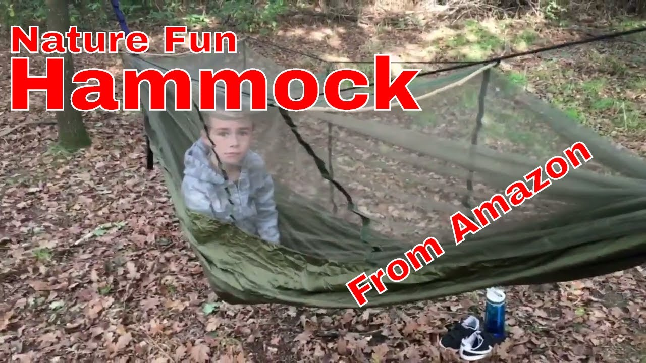 Budget NatureFun Hammock From Amazon HD  sc 1 st  YouTube & Budget NatureFun Hammock From Amazon HD - YouTube