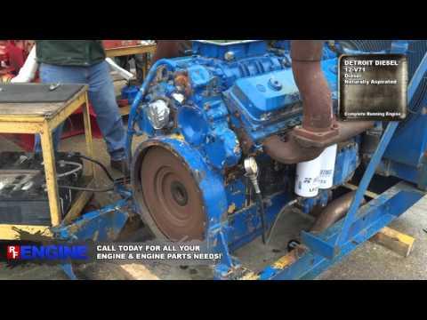 Detroit Diesel 12-V71 Test Run