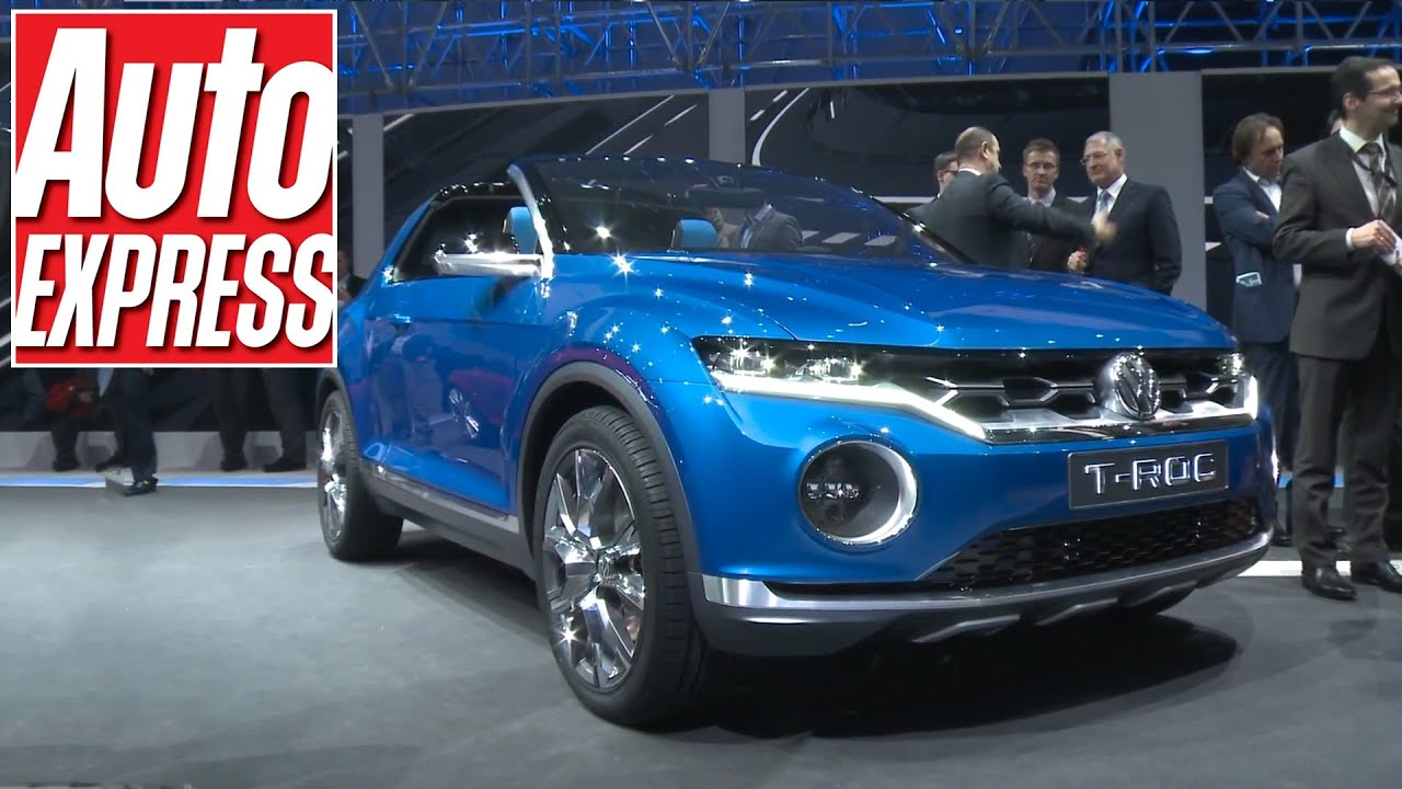 volkswagen t roc concept at the geneva motor show 2014 youtube. Black Bedroom Furniture Sets. Home Design Ideas