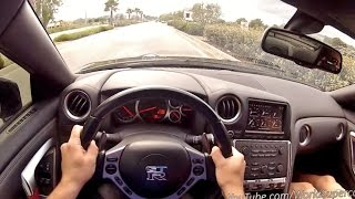 700HP Nissan GT-R Monstaka Launch Control and Insane Accelerations!