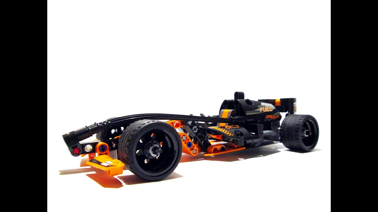 42026 Lego Technic Black Champion Racer | Unboxing, Speed ...