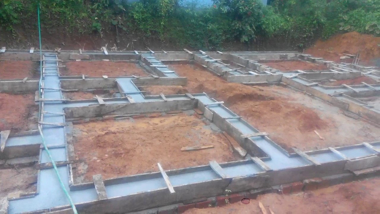 foundation work house construction 7 youtube