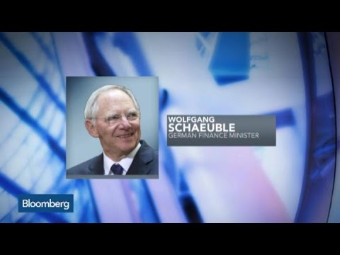 Schaeuble: See Greece Staying in Euro
