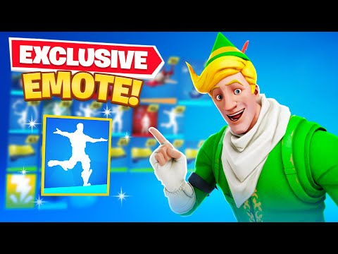 Exclusive *NEW* Fortnite Emote! (Bhangra Boogie)