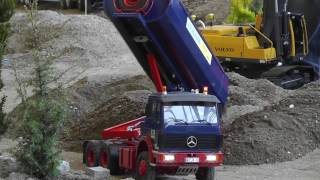 RC VOLVO EXCAVATOR, RC EQUIPMENT, RC TIPPER, HEAVY RC MACHINES