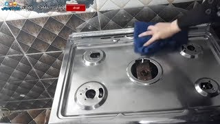 الروتيين اليومى وتحدي الكسل فى تنضيف مطبخى #يوميات_حمدى_ووفاء