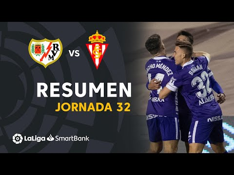 Vallecano Gijon Goals And Highlights