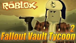 JSME POD ÚTOKEM?! - Roblox Fallout Vault Tycoon 2/2!