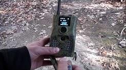 Scoutguard 580M Setup