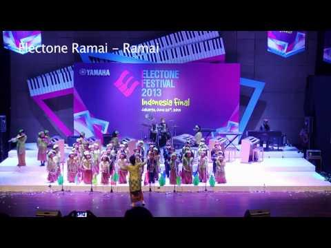 Yamaha Electone Festival 2013 Indonesia Final