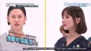 Download Video Eunha and Momo Aegyo Battle for Heechul MP3 3GP MP4