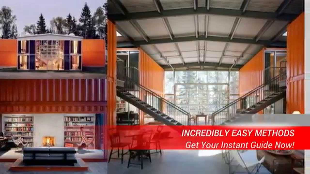Average cost to build a shipping container home youtube - How to build a home from a shipping container ...