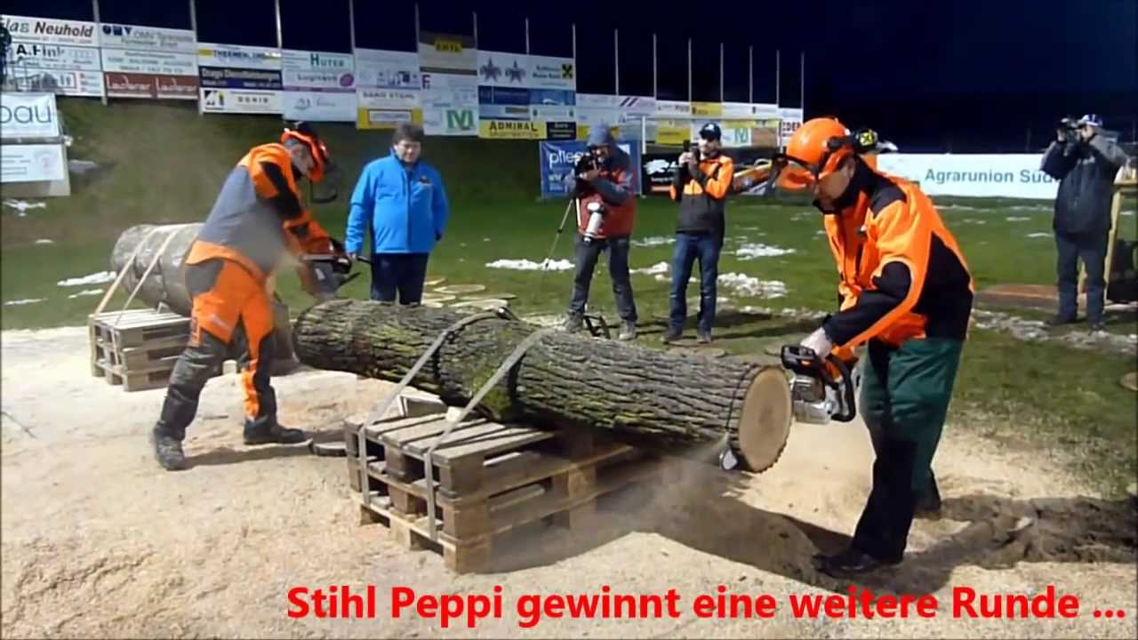 Top Das Duell der Titanen 2014 - Husqvarna Erwin vs Stihl Peppi - YouTube &NV_45