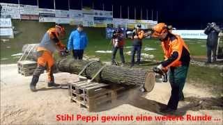 Das Duell der Titanen 2014 - Husqvarna Erwin vs Stihl Peppi