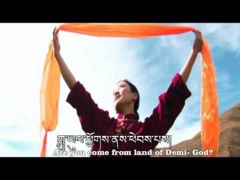 Shambala Girl by Lhundup -Tibetan Love song (Eng.Sub)