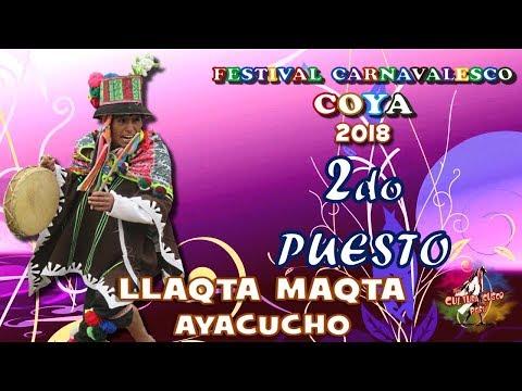LLAQTA MAQTA de Ayacucho COYA 2018 SEGUNDO PUESTO