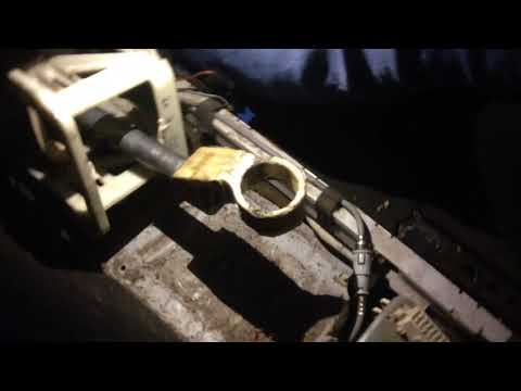 Opel Astra G Ремонт кулисы часть 1