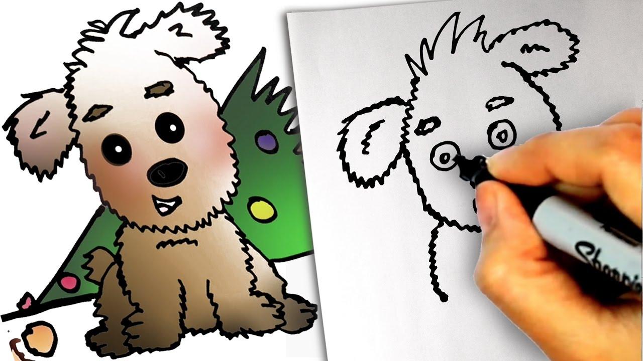 Dog Christmas Tree Meme.How To Draw A Dog Easy Step By Step Lol Dog And Christmas Tree Meme