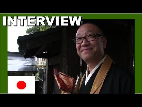 Interview with a Japanese Zen Buddhist priest - Walking in Japan 日本の禅仏教の僧侶 - 日本でのウォーキング