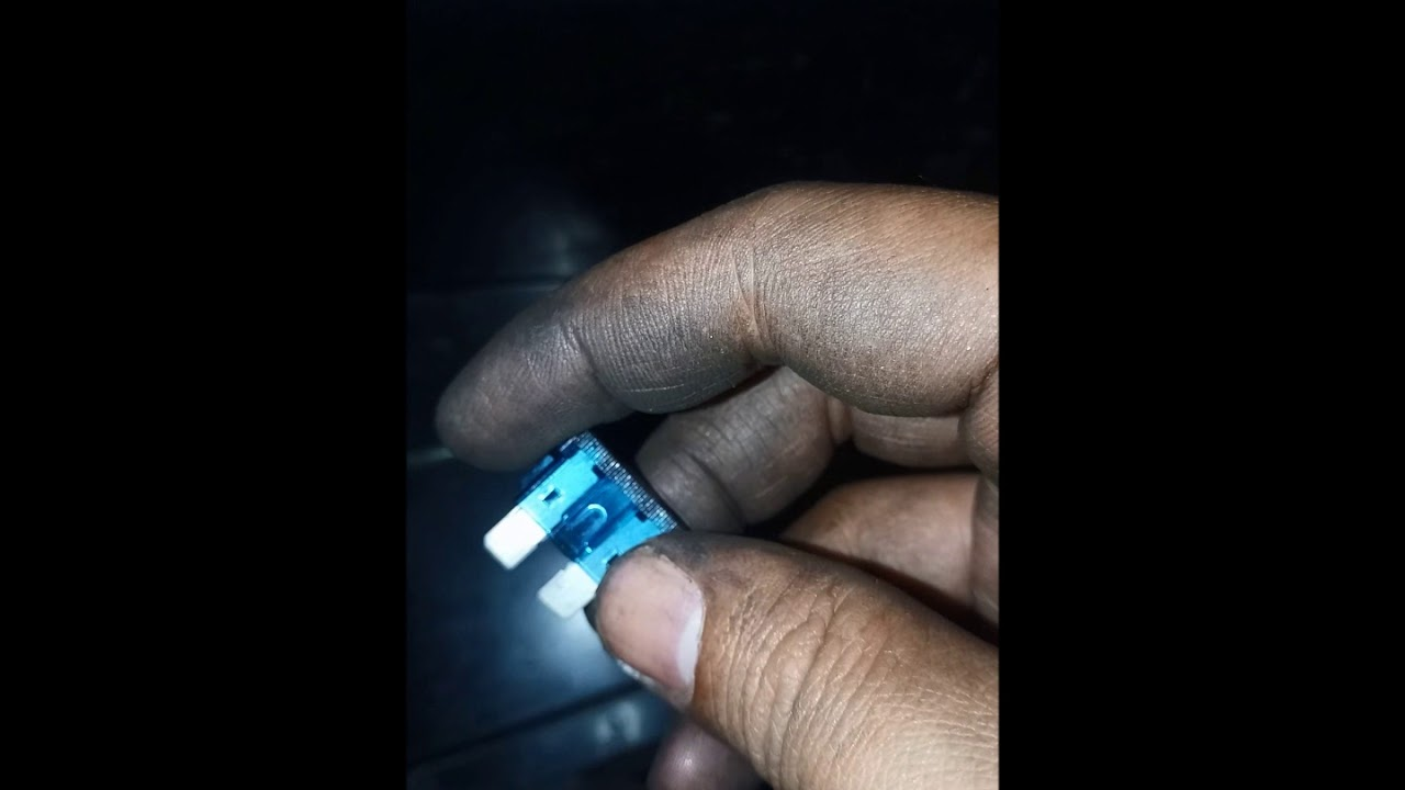 MIO I 125 BUSTED FUSE REPLACEMENT