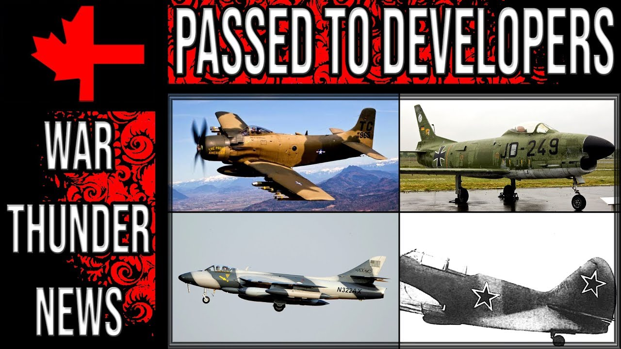 Download War Thunder - Passed to Developers - April 2019 - Aviation Part 1