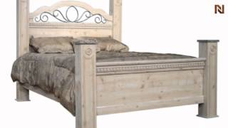 Seville Queen Poster Bed 6402+206402+6410+6412 By Standard Furniture