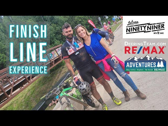 Lutsen 99er   Finish line Experience