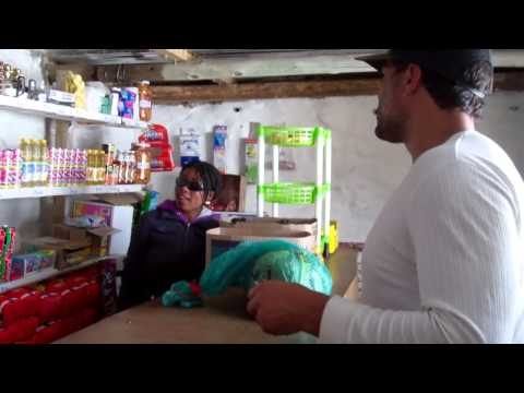 Travel with Marius - Lesotho shopping