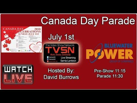 Sarnia Canada Day Parade 2018