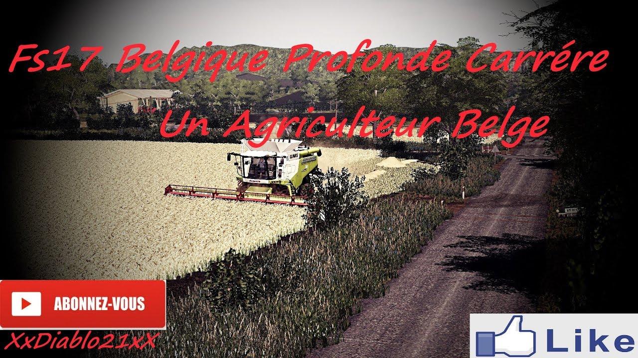 fs17 un agriculteur belge 2 map belgique profonde by frabel ls modding map modifier youtube. Black Bedroom Furniture Sets. Home Design Ideas