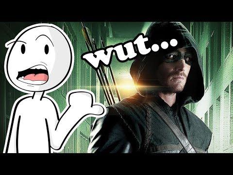 Arrow is a weird show...