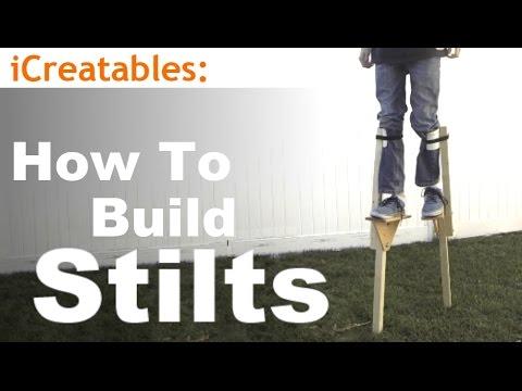 How To Build Wood Stilts - DIY Walking Stilts