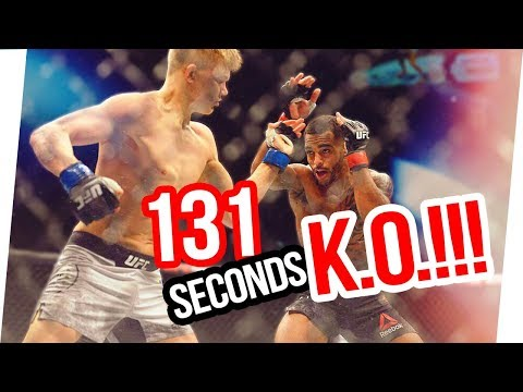 ONE PUNCH KNOCKOUT | Shocking UFC Fight by Oliver Enkamp