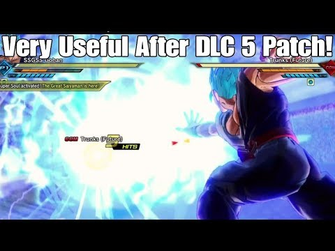 Xenoverse 2 DLC 5 Patch/Update Made One Handed Kamehameha MK 2 Extremely Useful Online!