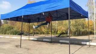 Раздвижной шатер 3х6 украинского производства. Купить шатер раздвижной 3х6 метра в Украине.(Шатер раздвижной 3х6 метра украинского производства. В нашем видео ролике вы сможете оценить удобство и..., 2014-11-06T09:52:56.000Z)